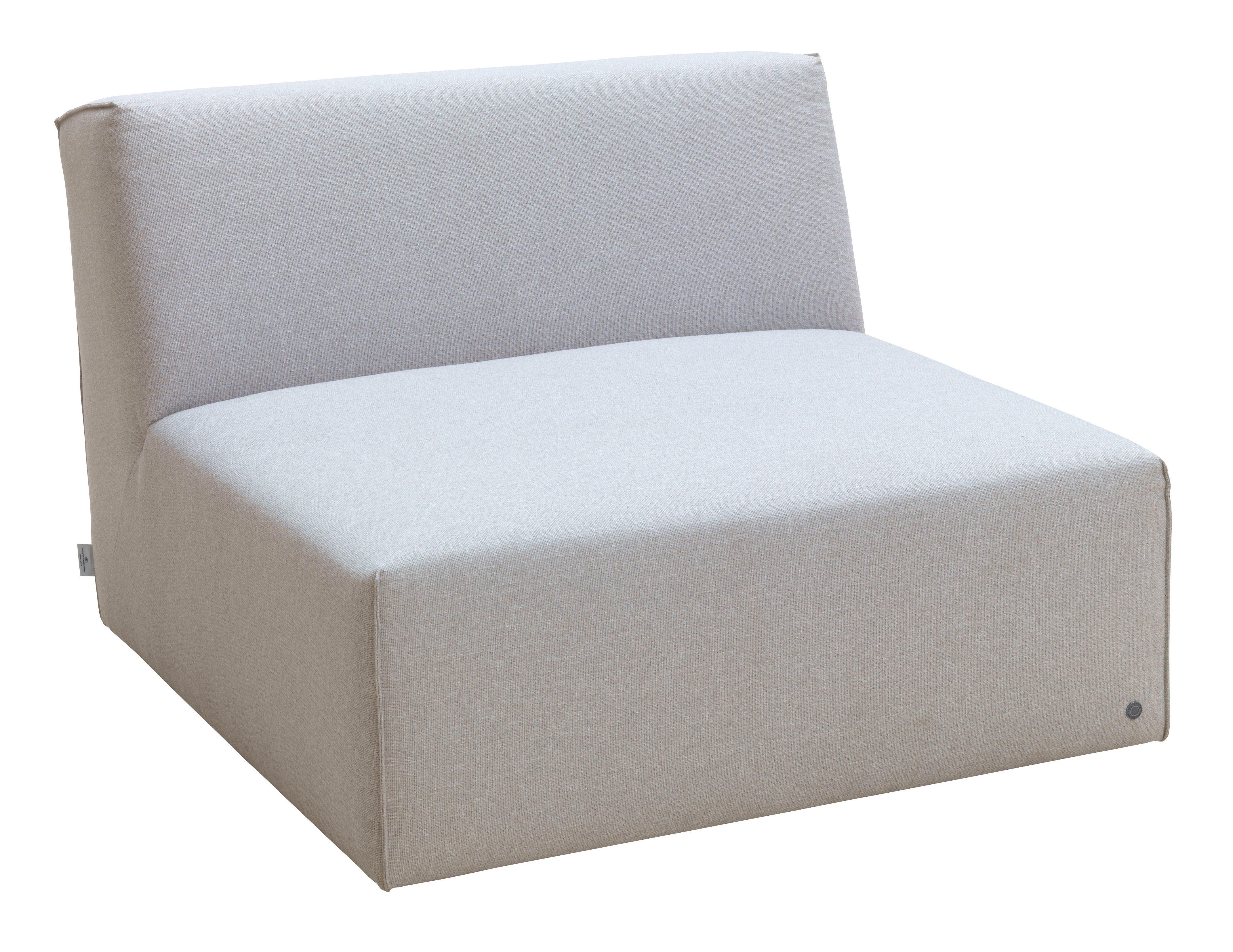 TOM TAILOR Sofaelement ELEMENTS, Sitzelement ohne Armlehne grau Sofaelemente Sofas Couches