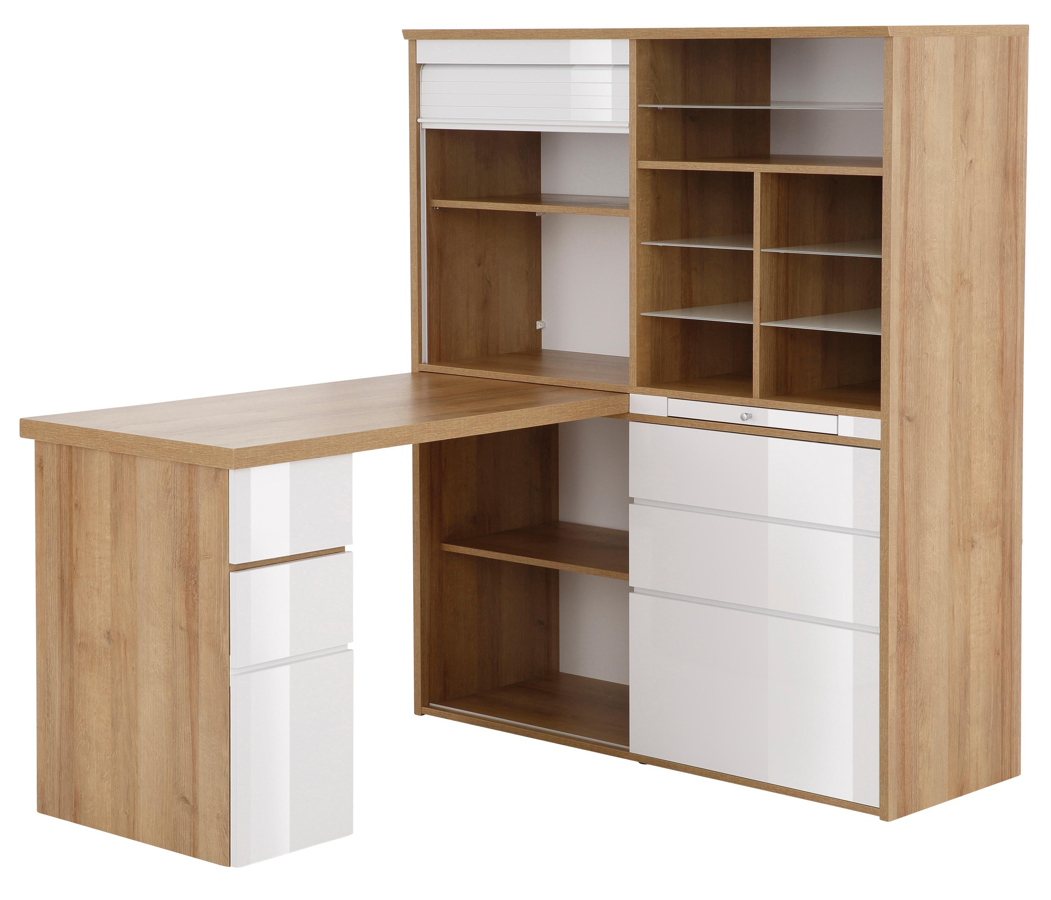 Maja Möbel Minioffice 9565 mit ausziehbarer Tischplatte