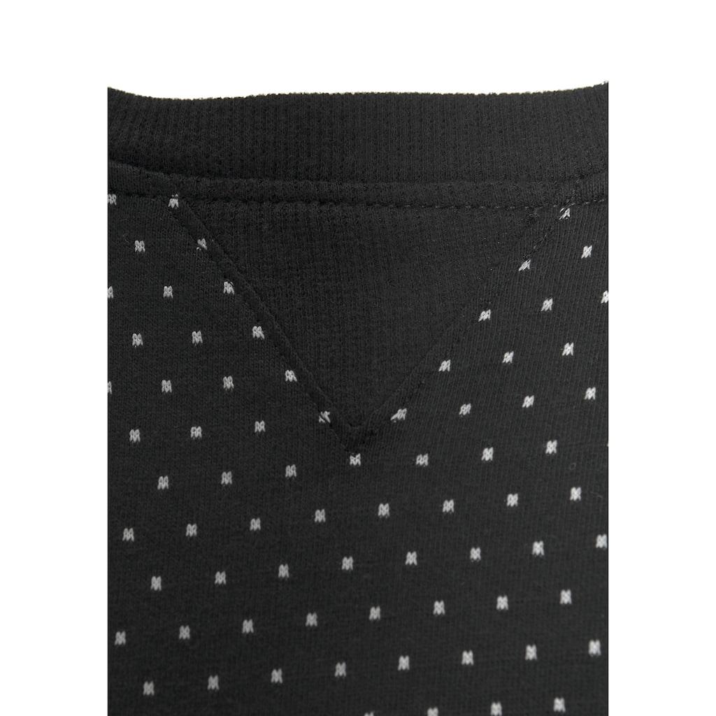 Vivance Dreams Pyjama, mit Pünktchen- und Streifenmuster