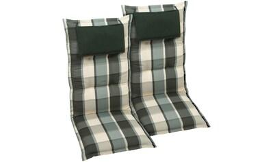 GO - DE Hochlehnerauflage (L/B): ca. 120x50 cm kaufen