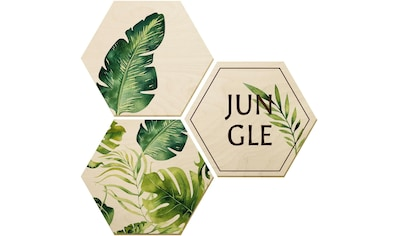 Holzbild »Kvilis  -  Jungle« (Set) kaufen