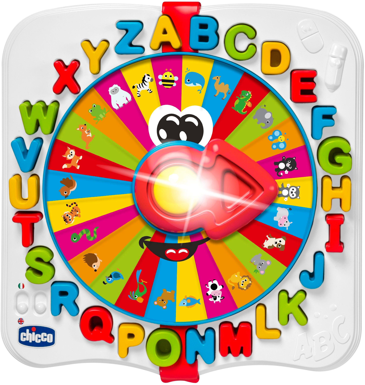 Chicco Lernspielzeug, ABC-Rad bunt Kinder Lernspiele Lernspielzeug