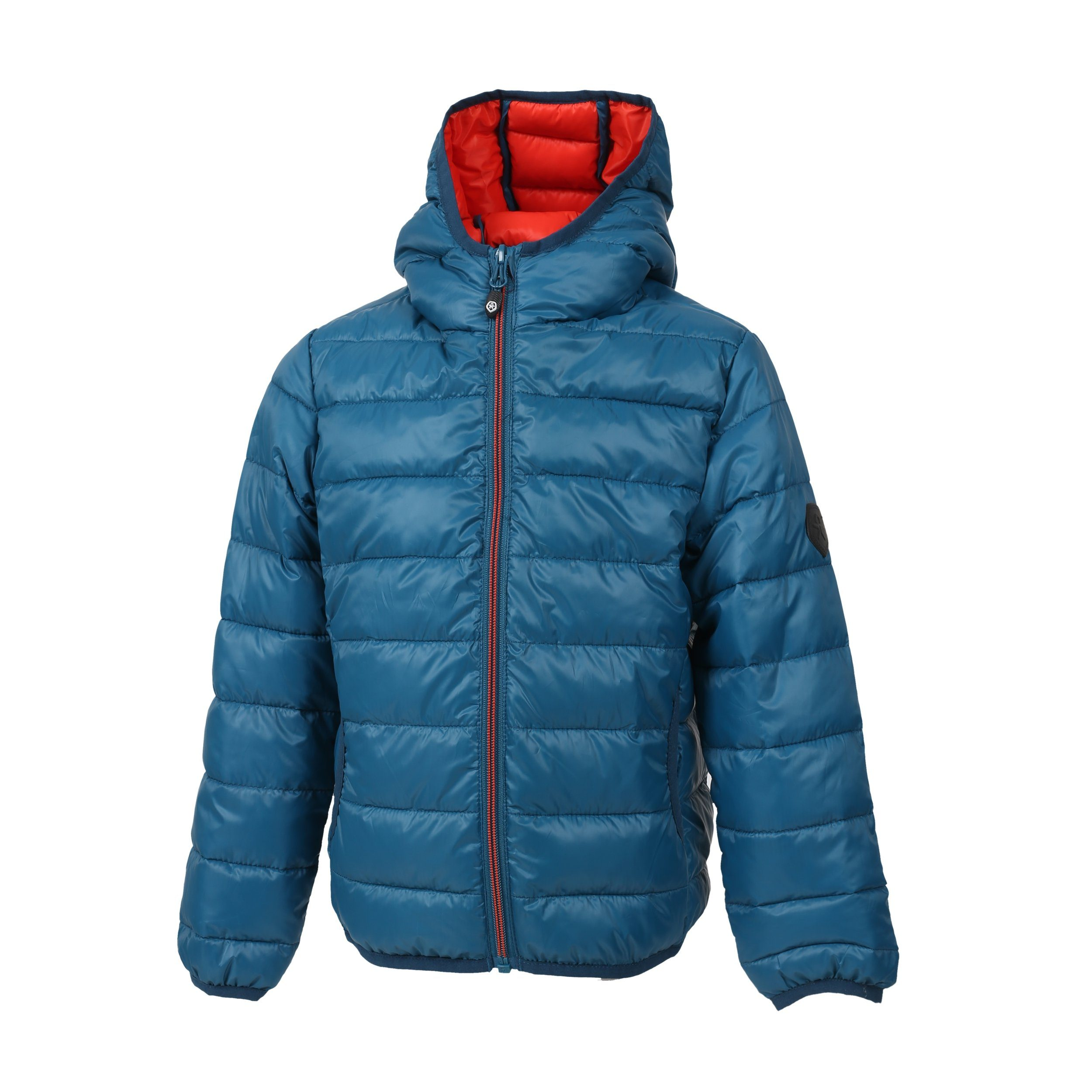 color kids -  Steppjacke mit warmer Kapuze