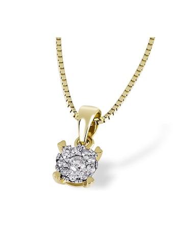 goldmaid Collier Glamour 585 Gelbgold 10 Brillanten 0,10 ct. kaufen