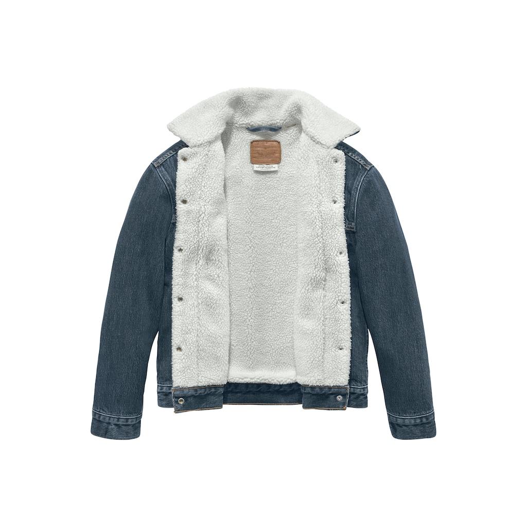 Levi's® Jeansjacke »EX-Boyfriend Sherpa«, mit wärmendem Teddy-Futter