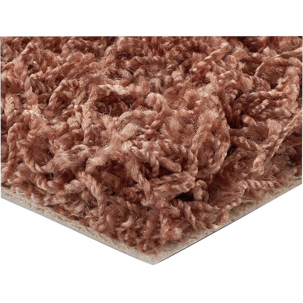 BODENMEISTER Teppichboden »Hochflor Velours«, Meterware, Breite 400/500 cm