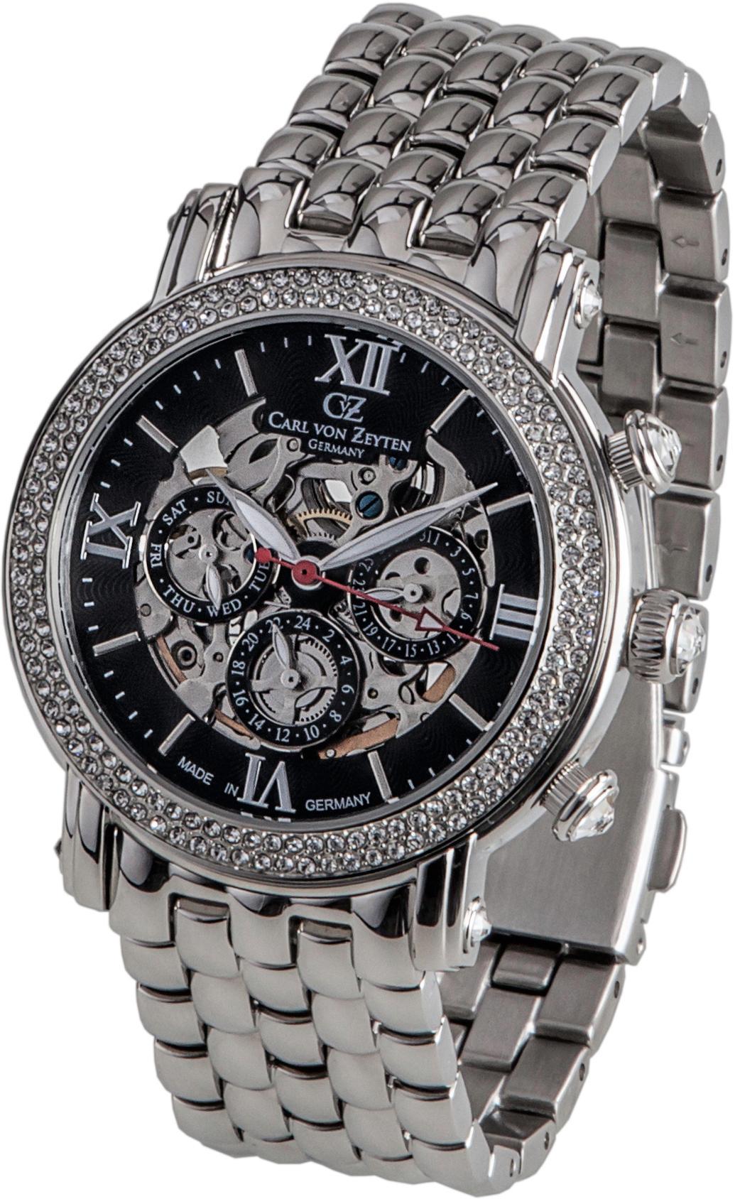 Carl von Zeyten Automatikuhr Kniebis CVZ0062BKMB | Uhren > Automatikuhren | Carl Von Zeyten