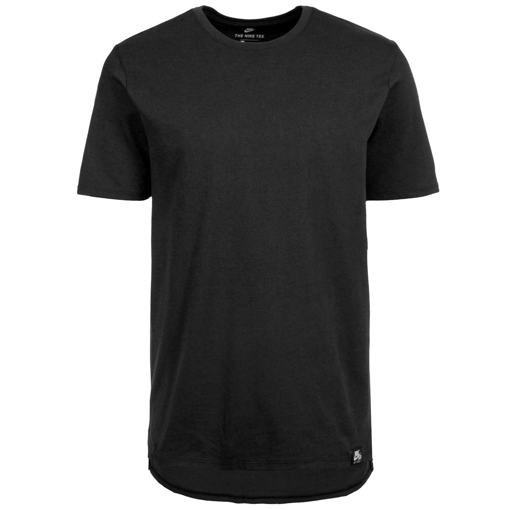 Nike Sportswear T-Shirt »Air« | Sportbekleidung > Sportshirts > Poloshirts | Schwarz | Jersey | NIKE SPORTSWEAR