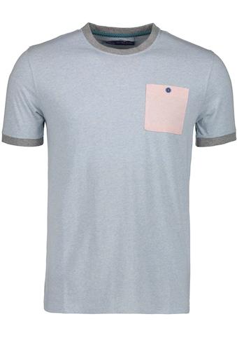 East Club London T-Shirt, mit farblich abgehobener Brusttasche kaufen