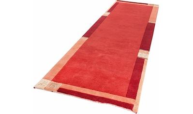 LUXOR living Läufer »India«, rechteckig, 20 mm Höhe, Teppich-Läufer, reine Wolle,... kaufen