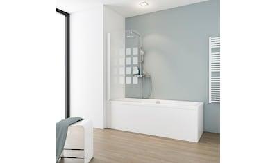Schulte Badewannenaufsatz »Floral«, BxH: 80 x 140 cm, Komfort kaufen
