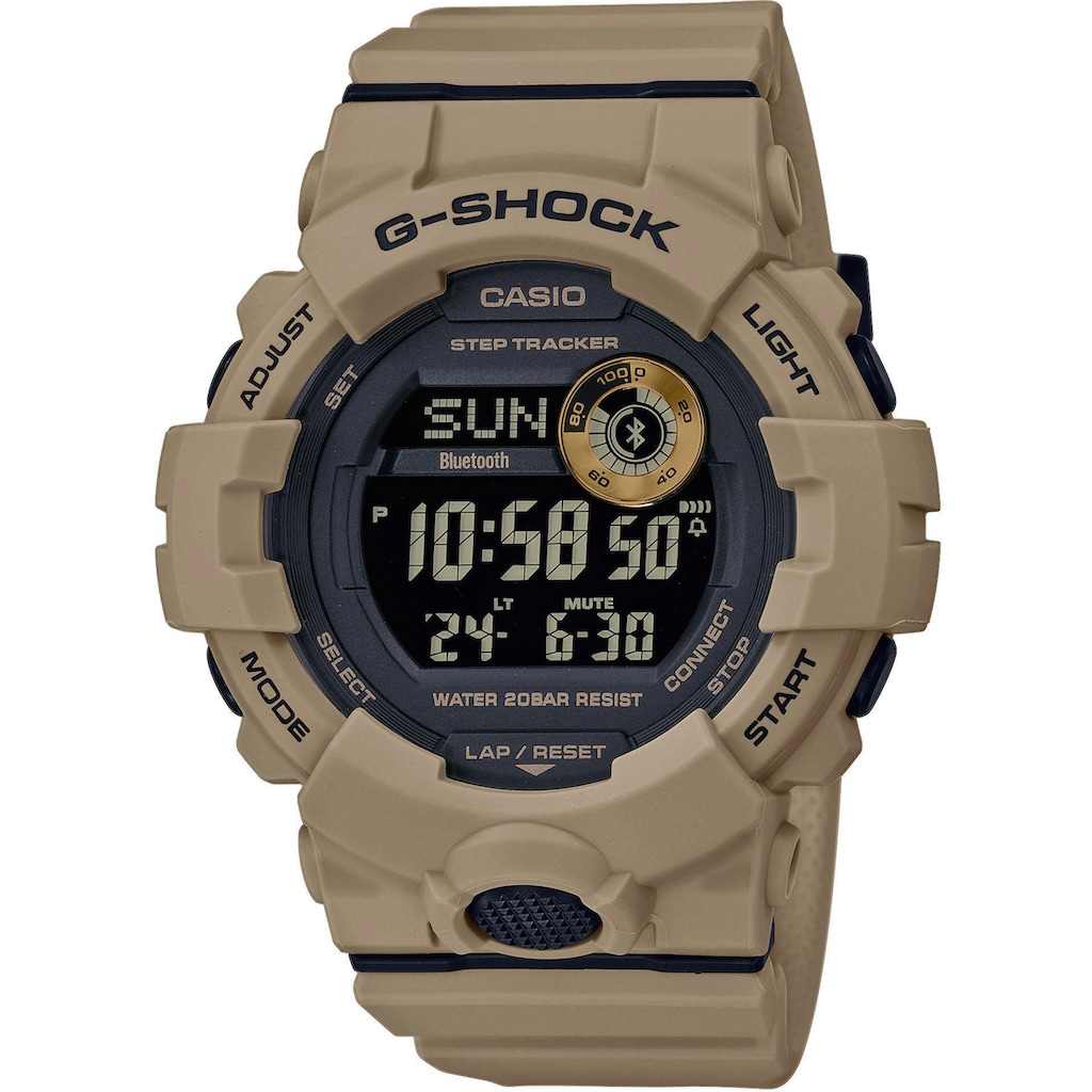 CASIO G-SHOCK Smartwatch »G-Squad, GBD-800UC-5ER«
