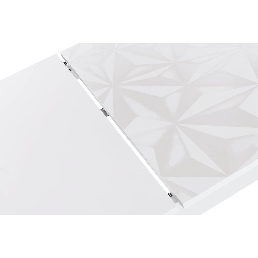 LC Esstisch »Prisma«, Breite 137 - 185 cm