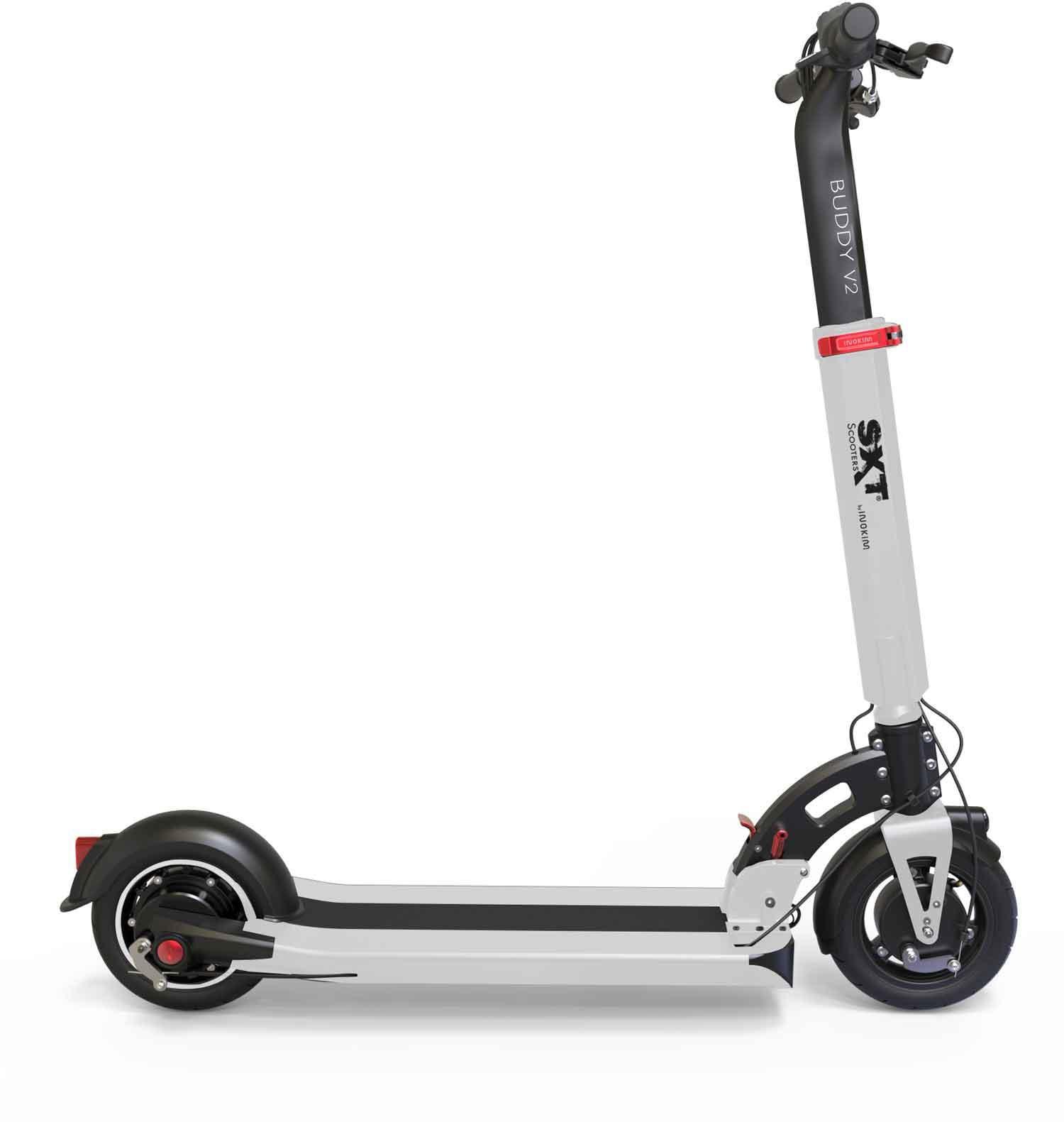 SXT Scooters E-Scooter Buddy V2 weiß Elektroscooter Elektroroller Motorroller Mofas