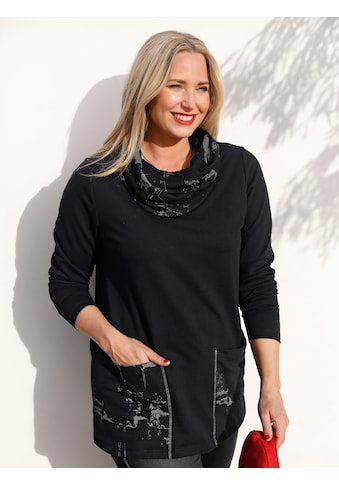 MIAMODA Sweatshirt, mit halsfernem Kragen kaufen