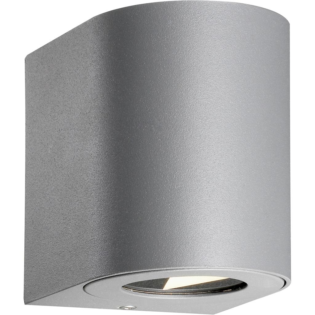 Nordlux LED Außen-Wandleuchte »Canto 2«, LED-Board, inkl. Verschiedene Lichtschablonen