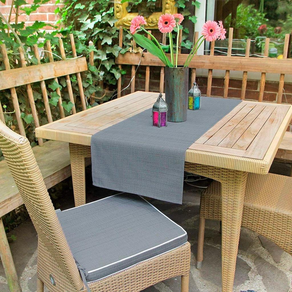 Delindo Lifestyle Tischläufer »SAMBA«, Fleckabweisend, UV-beständig, 230 g/m²