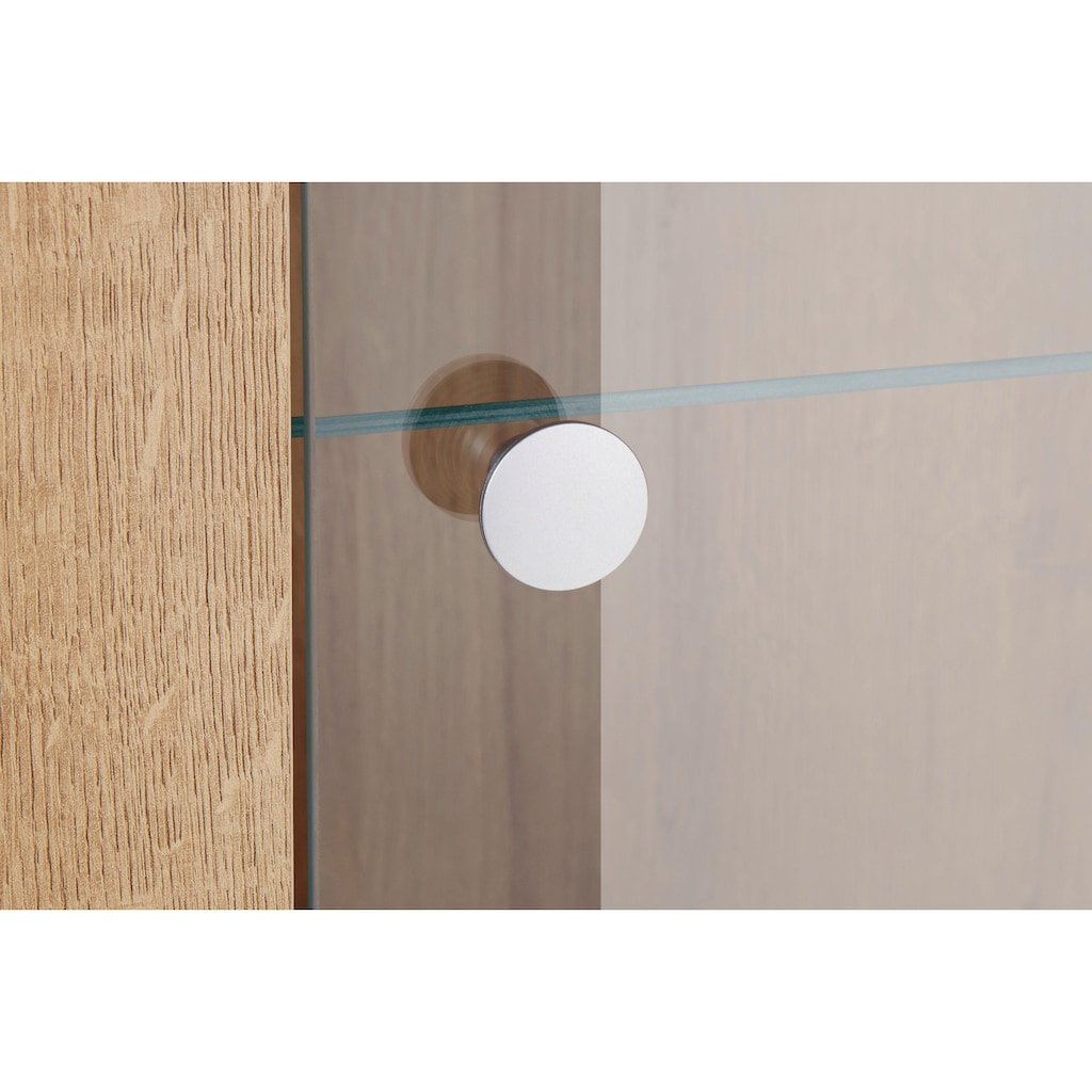 TRENDMANUFAKTUR Vitrine »Larona«, Höhe 145 cm