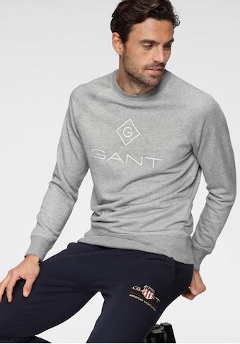 Gant Sweatshirt »LOCK UP C-NECK SWEAT«, Bündchenabschlüsse kaufen