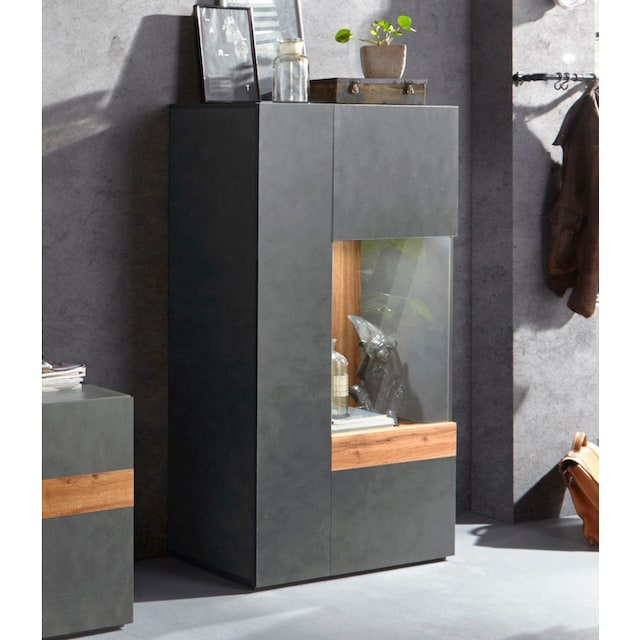 TRENDMANUFAKTUR Vitrine »SILKE LIGHT«