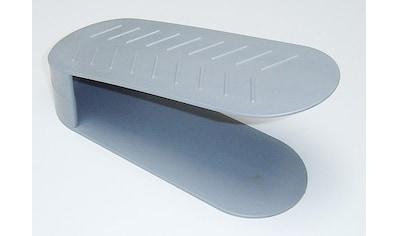 Ruco Schuhregal »(Schuhstapler)«, (Set, 4 St.), Kunststoff, schafft Platz und Ordnung kaufen