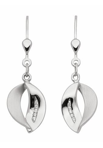 Adelia´s Paar Ohrhänger »925 Silber Ohrringe / Ohrhänger mit Zirkonia«, Silberschmuck für Damen kaufen