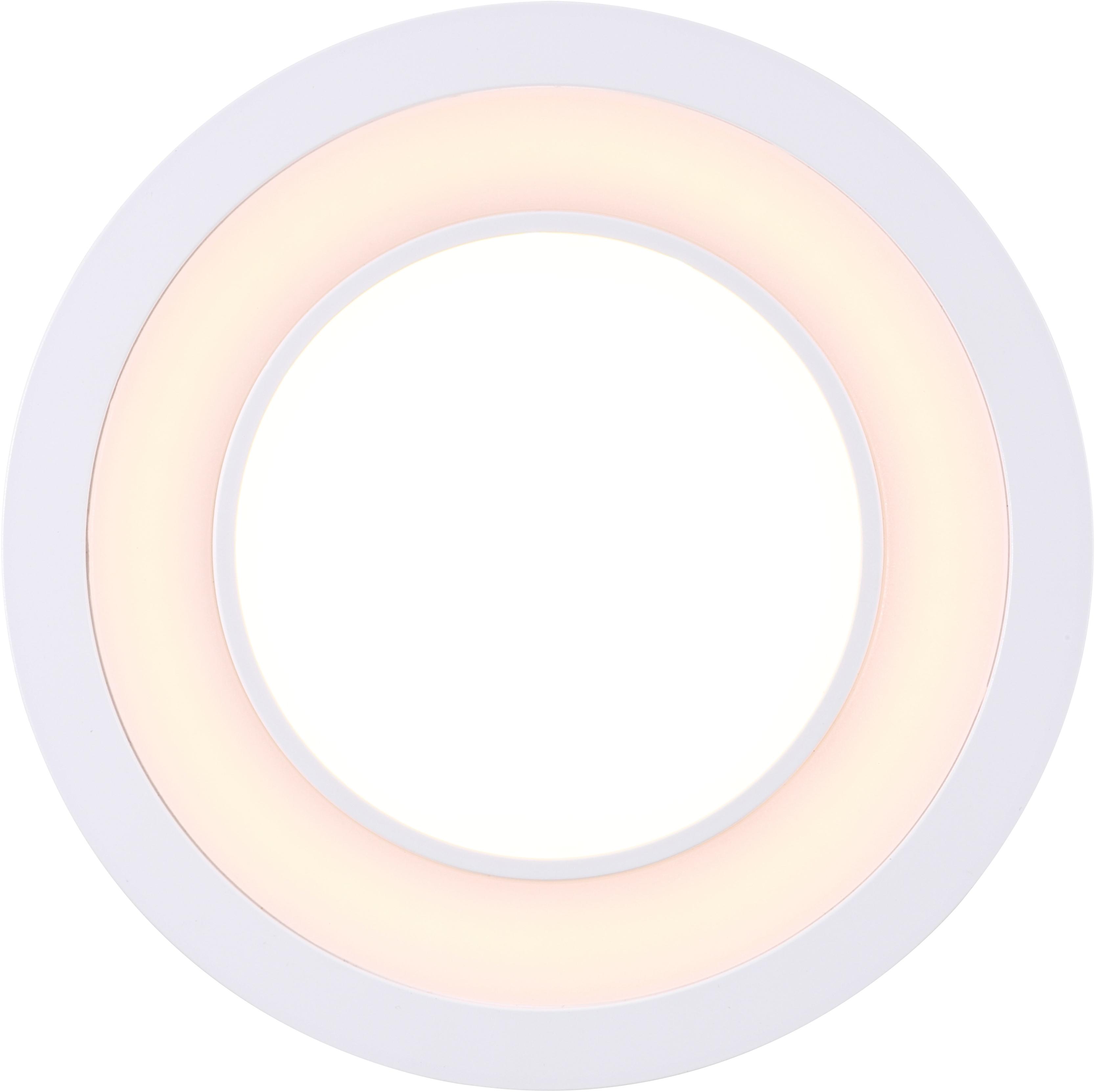 Nordlux LED Einbaustrahler 2er Set Clyde 15, LED-Board, Warmweiß, Einbauleuchte mit integriertem Dimmer