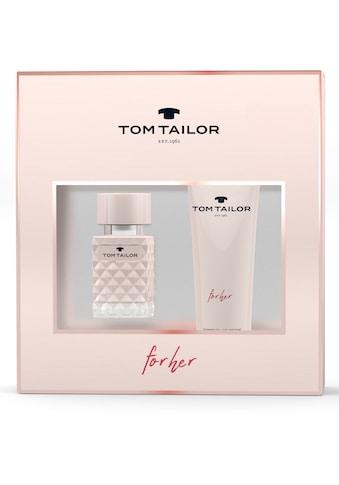 TOM TAILOR Duft-Set »for her«, (2 tlg.) kaufen