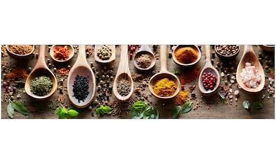 MySpotti Küchenrückwand »fixy Spicy Kitchen«, selbstklebende und flexible... kaufen