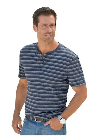 Catamaran Kurzarm - Shirt im garngefärbten Streifen - Muster kaufen