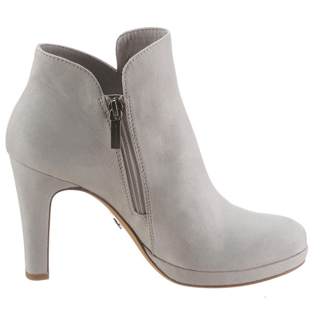 Tamaris High-Heel-Stiefelette, im femininen Look
