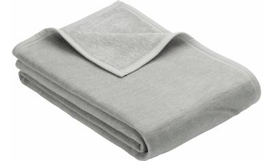 IBENA Wohndecke »Luxus«, unifarbenes Design kaufen