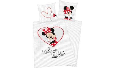 Kinderbettwäsche »Minnie Mouse«, Walt Disney kaufen
