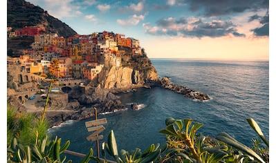 Komar Fototapete »The picturesque Village«, mehrfarbig-natürlich-bedruckt kaufen