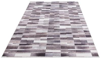 Fellteppich, »Ruwen«, Bruno Banani, rechteckig, Höhe 6 mm, Transferdruck kaufen