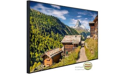 Papermoon Infrarotheizung »Häuser in berg Landschaft«, sehr angenehme Strahlungswärme kaufen