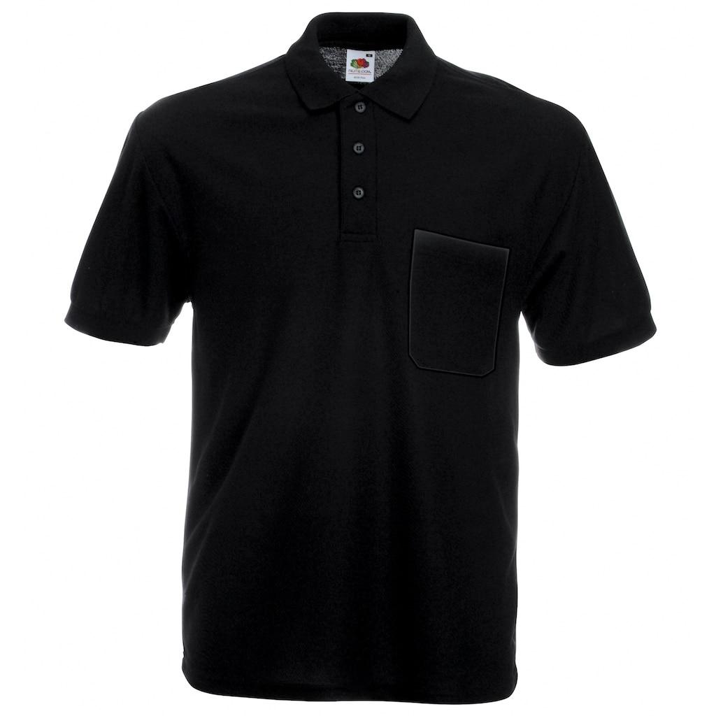 Fruit of the Loom Poloshirt »Pocket 65/35 Piqué-Polo-Shirt«
