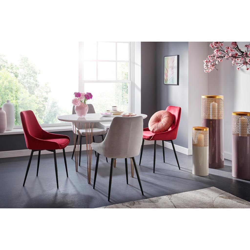 INOSIGN Stuhl »Niam«, 2er-Set, in modernem Design