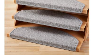 Andiamo Stufenmatte »Bob«, halbrund, 4,5 mm Höhe, Set mit 2 Stück oder 15 Stück, melierte Schlinge kaufen