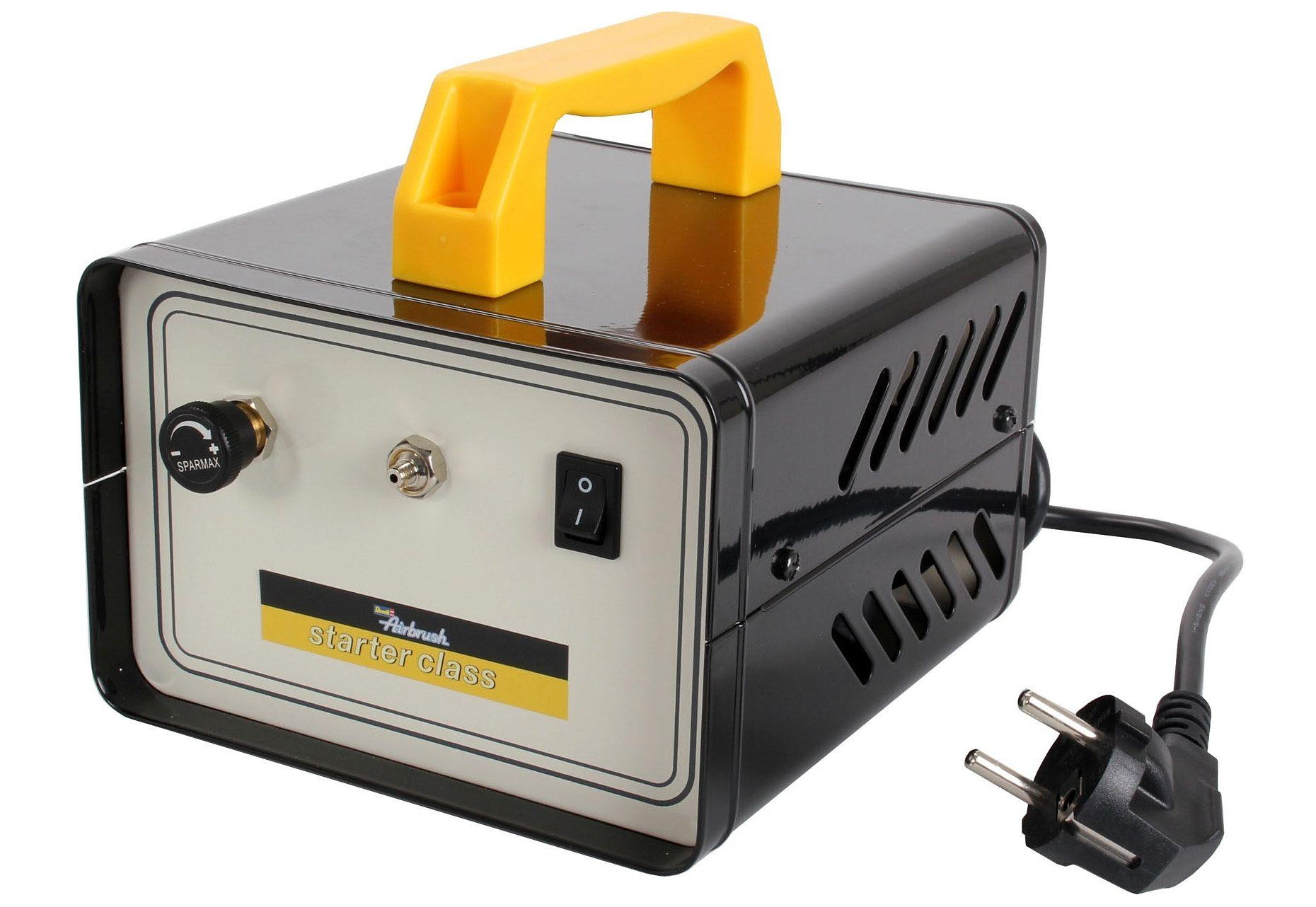 Revell Airbrush Kompressor Starter class Airbrush Kompressor Technik & Freizeit/Spielzeug/Altersempfehlung/Ab 12-15 Jahren