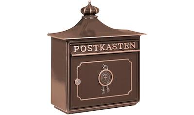 Burg Wächter Briefkasten »Bordeaux 1895 BC«, aus Guss kaufen