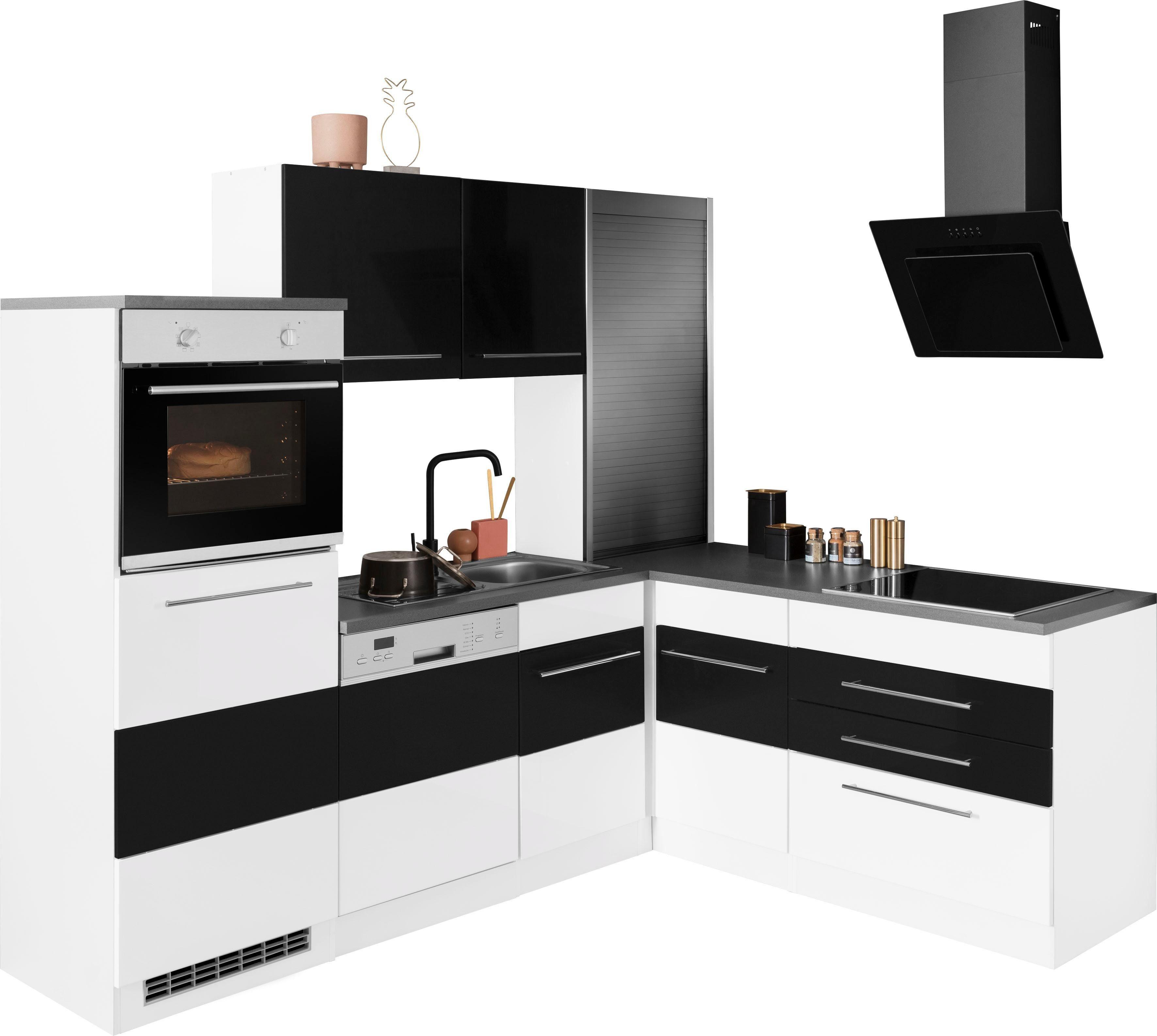 HELD MÖBEL Winkelküche Trient ohne E-Geräte Stellbreite 230/190 cm