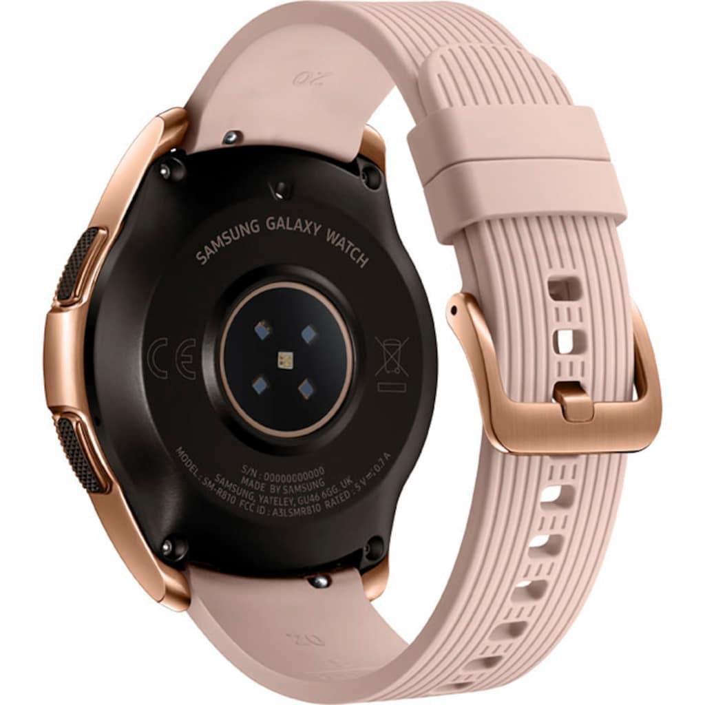 Samsung Smartwatch »Galaxy Watch - 42mm«, (Tizen OS)