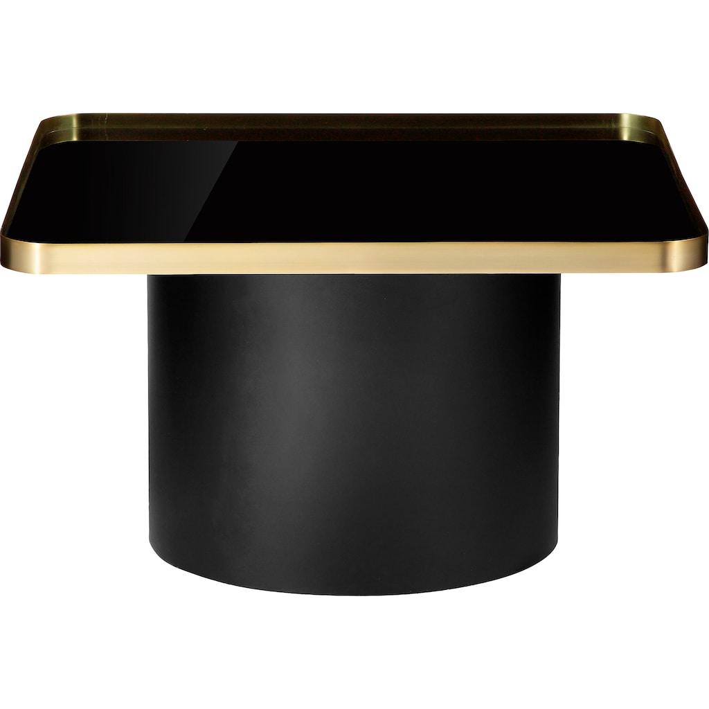 Leonique Couchtisch »Marlee«, Tischplatte aus Glas, Gestell aus Metall