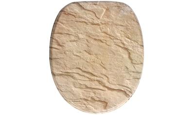 Sanilo WC-Sitz »Sand Stone«, mit Absenkautomatik kaufen