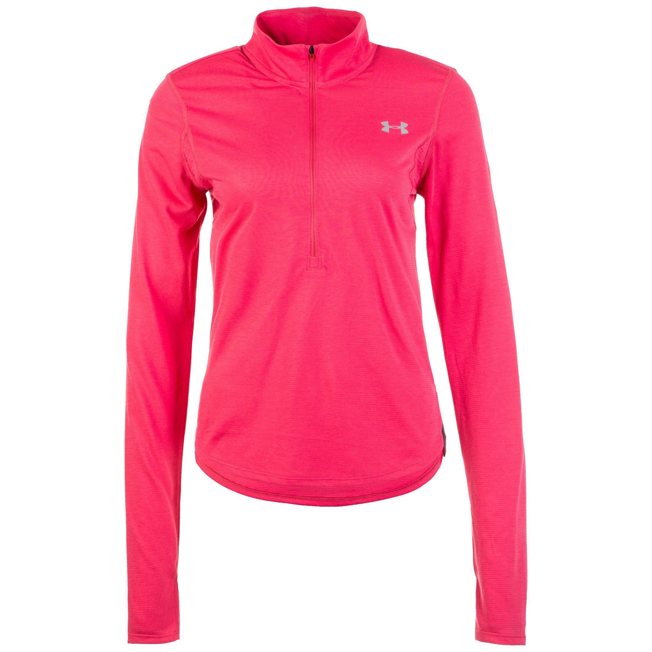 Under Armour Laufshirt Streaker 20 Half Zip | Sportbekleidung > Sportshirts > Laufshirts | Rosa | Under Armour