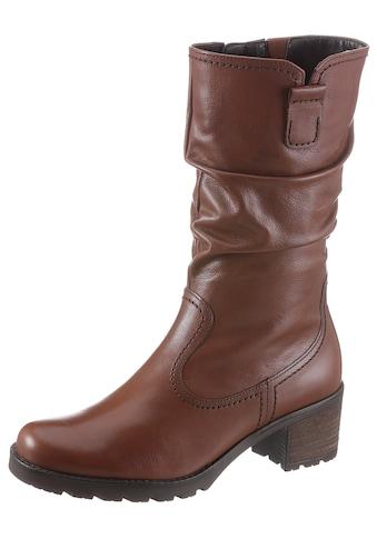 Gabor Stiefel, mit klassischen Raffungen am Schaft kaufen