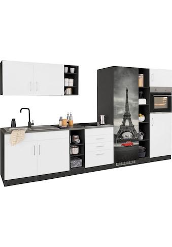 HELD MÖBEL Küchenzeile »Paris«, ohne E-Geräte, Breite 340 cm kaufen