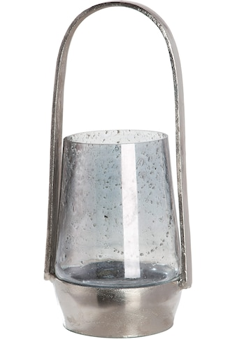 GILDE Windlicht »Noche«, aus Aluminium mit Glas-Einsatz kaufen