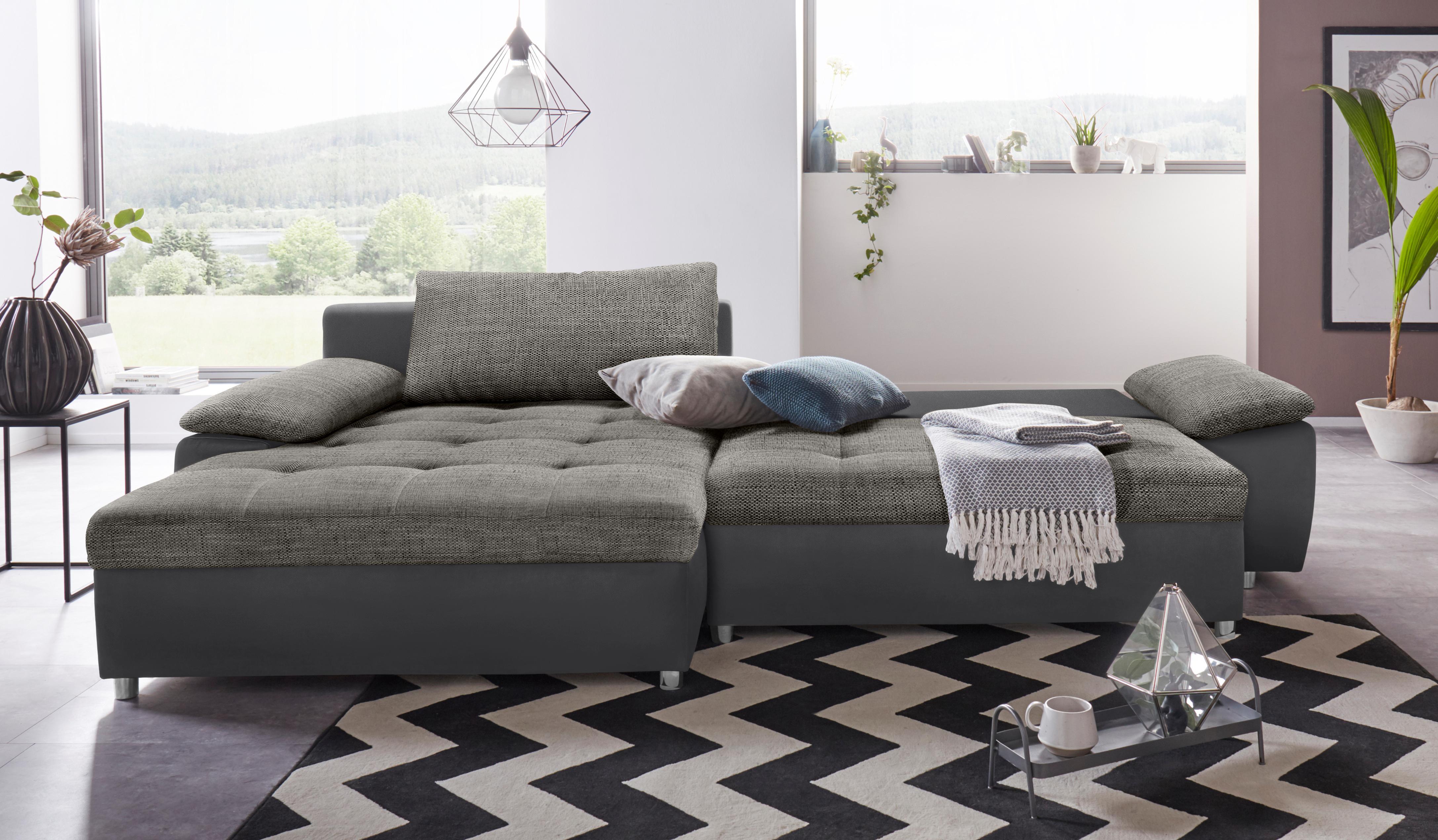 sit&more Ecksofa Labene | Wohnzimmer > Sofas & Couches > Ecksofas & Eckcouches | Grau | Kunstleder | Sit&More